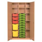 Forminant Supply Cabinet with 4 sets of 14 rails by HABA