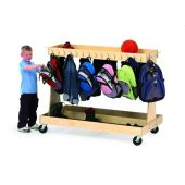 Mobile Classroom Backpack Cart by Gressco