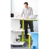 Set.upp Height-Adjustable Teacher's Table by HABA