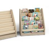 Bookcase w/Fabric Partitions by Gressco, 6512726