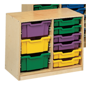 Classroom Organizer - Double Side by Side Unit by Gressco, 7502