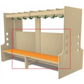 Back Walls for Free-Standing Wardrobe Units by HABA