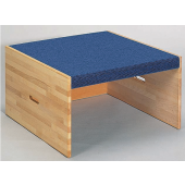 High Square Carpet Platform by HABA