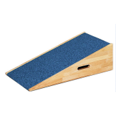 "Low Rectangular Platform Ramp with Carpet, 8 3/4"" H by HABA, 846110*"