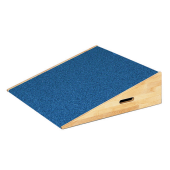 "Low Square Platform Ramp with Carpet, 8 3/4"" H by HABA, 846120*"