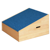 High Square Platform Ramp with Carpet