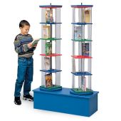 MAR-LINE® Junior Double-Tower Children and Young Adult Book & Media Display by Gressco