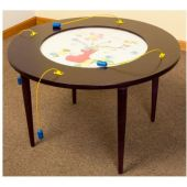 Children's Furniture Company® Play-From-The-Top Round Activity Tables