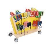 Mobile Boot Storage Carts by HABA
