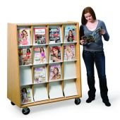 MAR-LINE® Mobile Omni Periodical Display by Gressco