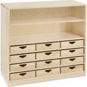 Move Upp Cabinet w/ 12 Box Drawers by HABA