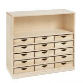 Move Upp Cabinet w/ 15 Box Drawers by HABA