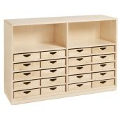 Move Upp Cabinet w/ 20 Box Drawers by HABA