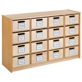 Forminant Property Cabinet with 16 Property Boxes
