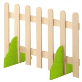 Playhouse Fence with Bushes by HABA