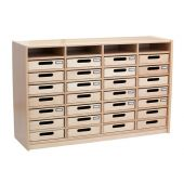 Forminant Property Cabinet with 28 Wood Property Boxes by HABA