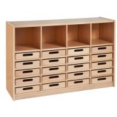 Forminant Property Cabinet with 20 Wooden Boxes by HABA
