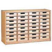 Forminant Property Cabinet with 32 Wood Boxes by HABA 508504*