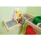 Short Hat Rack Compartment Divider by HABA