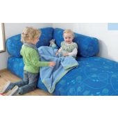 "Chambered Inlet Large Floor Cushion 71"" by HABA"
