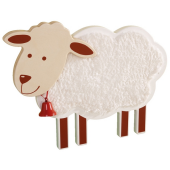 Sheep Wooden Playwall Decoration by HABA