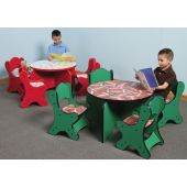 Children's Furniture Company® Round Friends Design Toddler Table