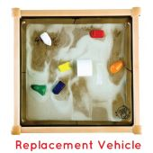 Children's Furniture Company® Replacement Vehicles for Standard Theme Magnetic Sand Table, Y105001500
