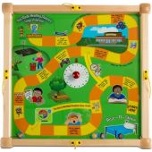 Children's Furniture Company® Play-From-The-Top Healthy Race Activity Table