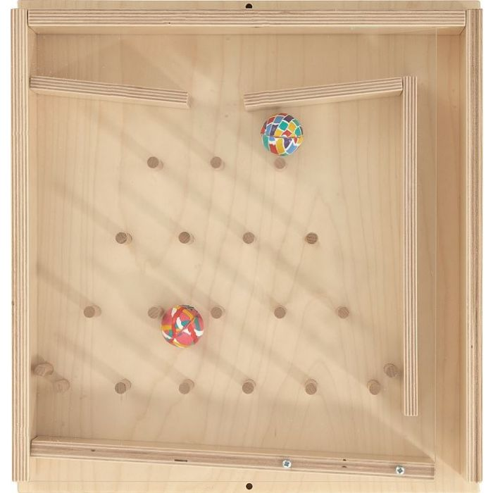 Rubber Ball Stairs Sensory Wall Activity Panel by HABA, 023138