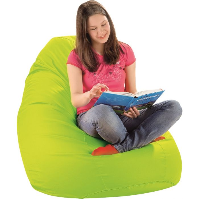 Large Light Green Lounge Bean Bag by HABA, 024839