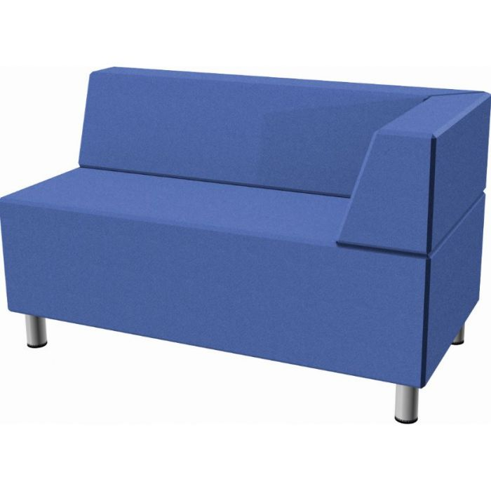 Relax Small Rectangular Sofa with Right Corner Seat Back