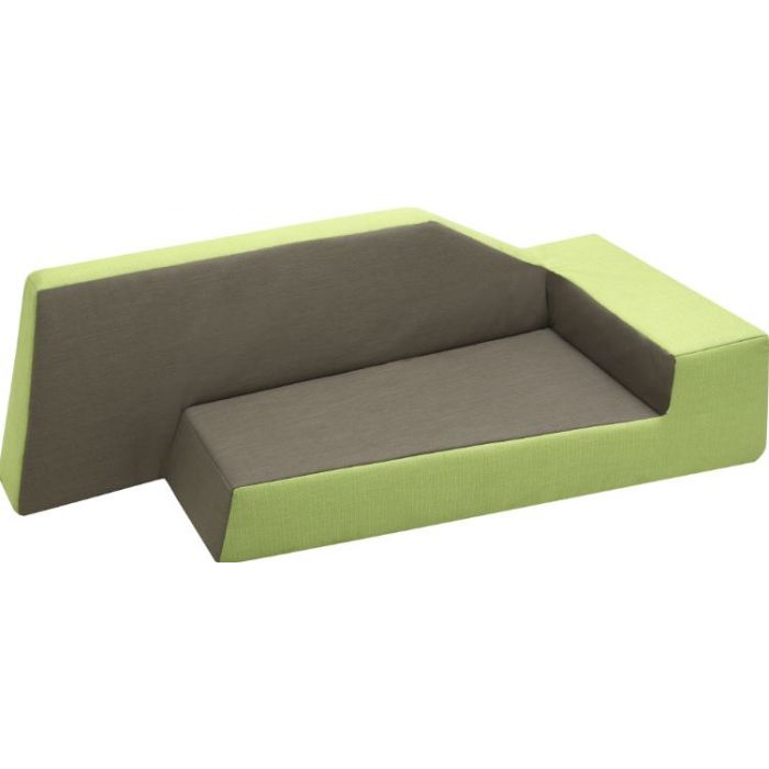 Grow.upp Explorer Sofa w/Armrest to the Right (Fabric) by HABA, 066939*