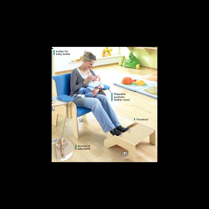 HABA Baby Feeding Footstool