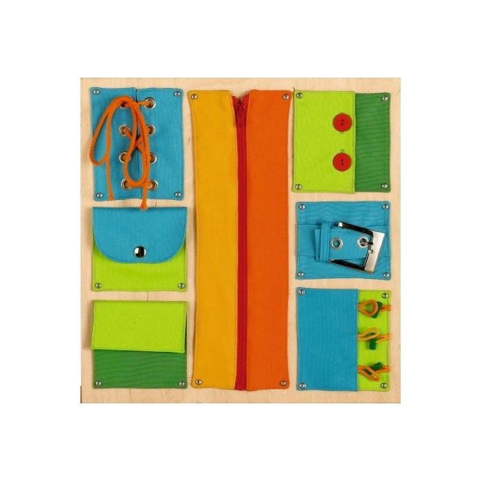 Closures Sensory Wall Activity Panel by HABA