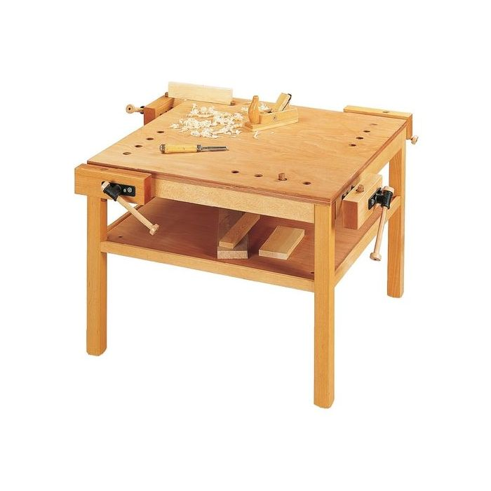 4-Person Workbench w/Additional Shelf by HABA