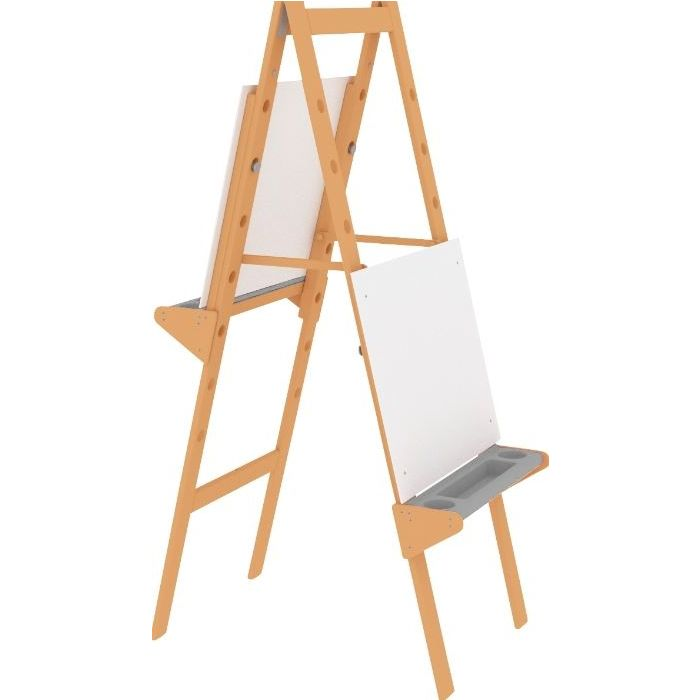 Tall Double-Sided Height-Adjustable Easel by HABA