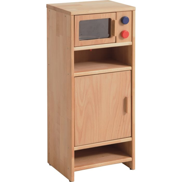 High Cabinet with Microwave by HABA