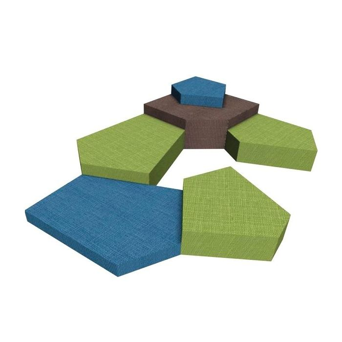 Grow.upp Soft Foam Platform Combination Preschool 12