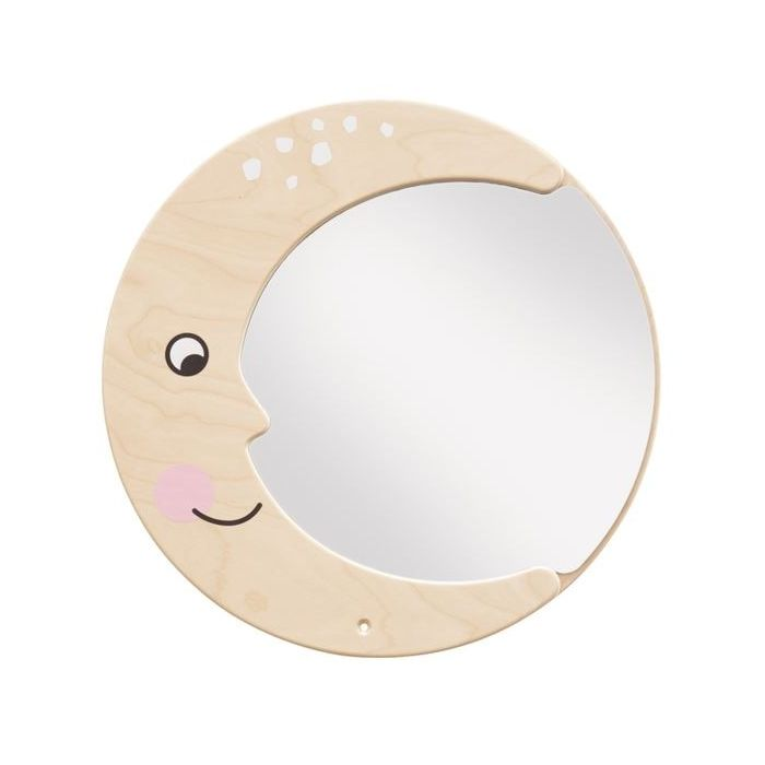 Moon Mirror Wooden Play Wall Decoration by HABA