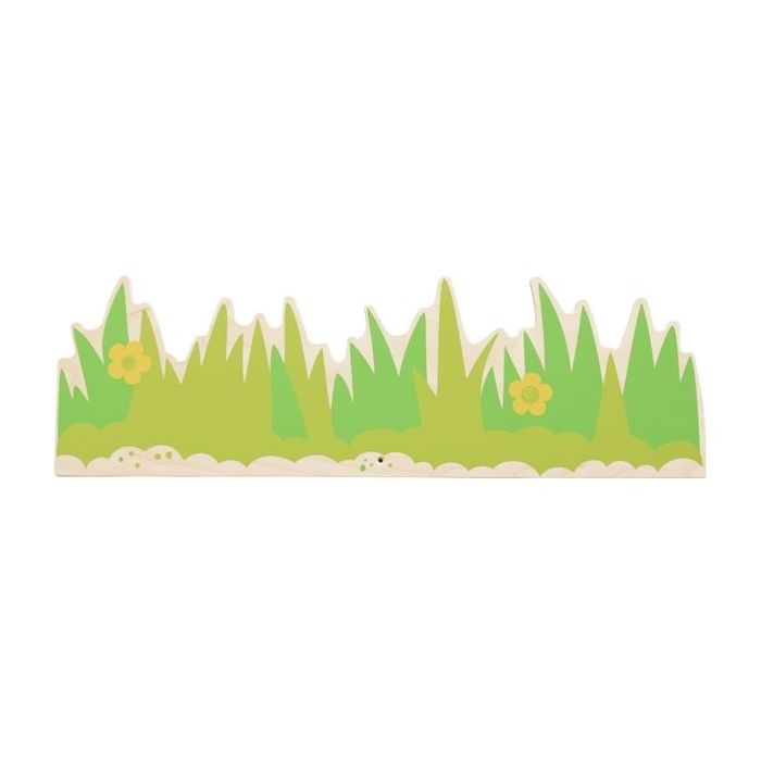 Meadow Grass Wooden Play Wall Decoration by HABA