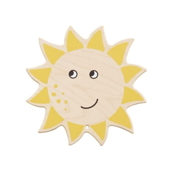 Smiling Sun Wooden Play Wall Decoration by HABA
