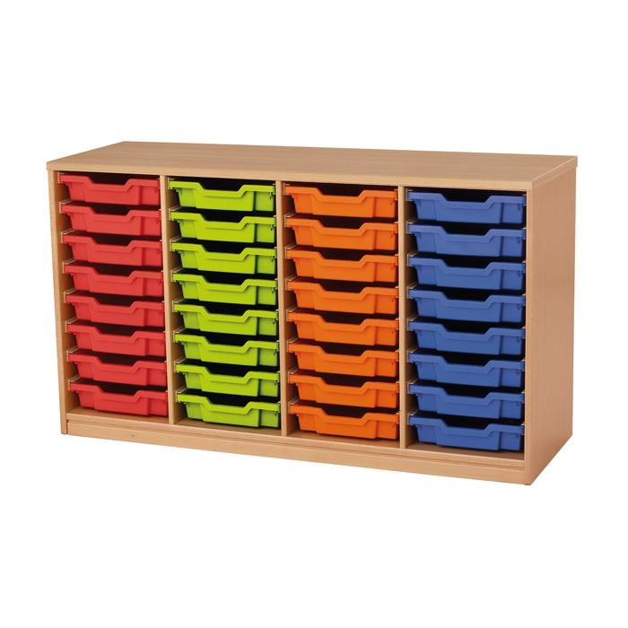Forminant Material Cabinet with 8 sets of 8 rails by HABA