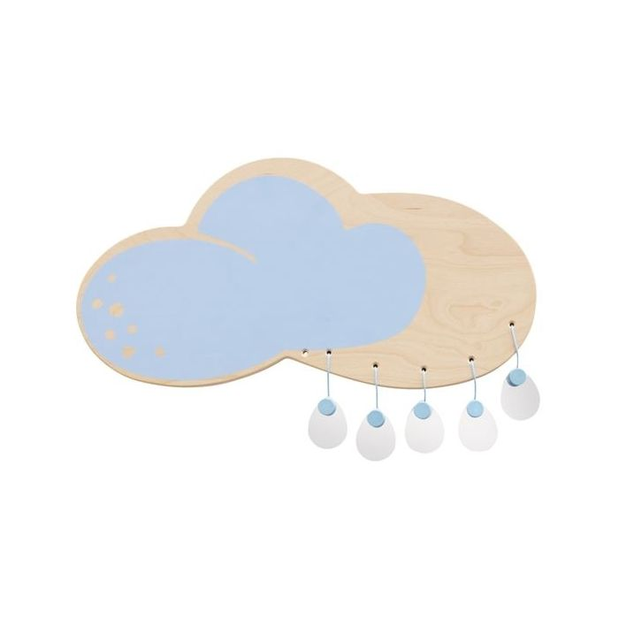 Cloud Wooden Play Wall Decoration by HABA