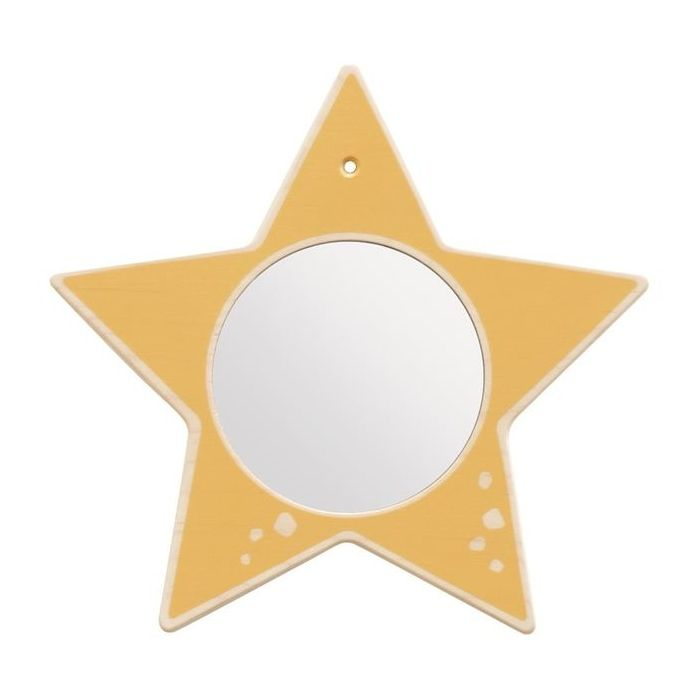 Star Mirror Wooden Play Wall Decoration by HABA