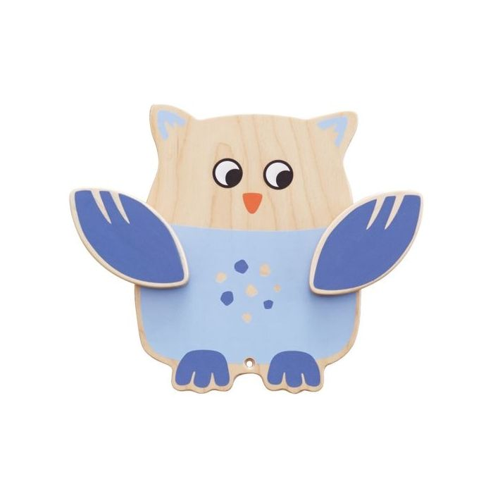 Owl Interactive Wooden Play Wall Decoration by HABA