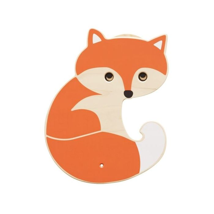 Fox Interactive Wooden Play Wall Decoration by HABA