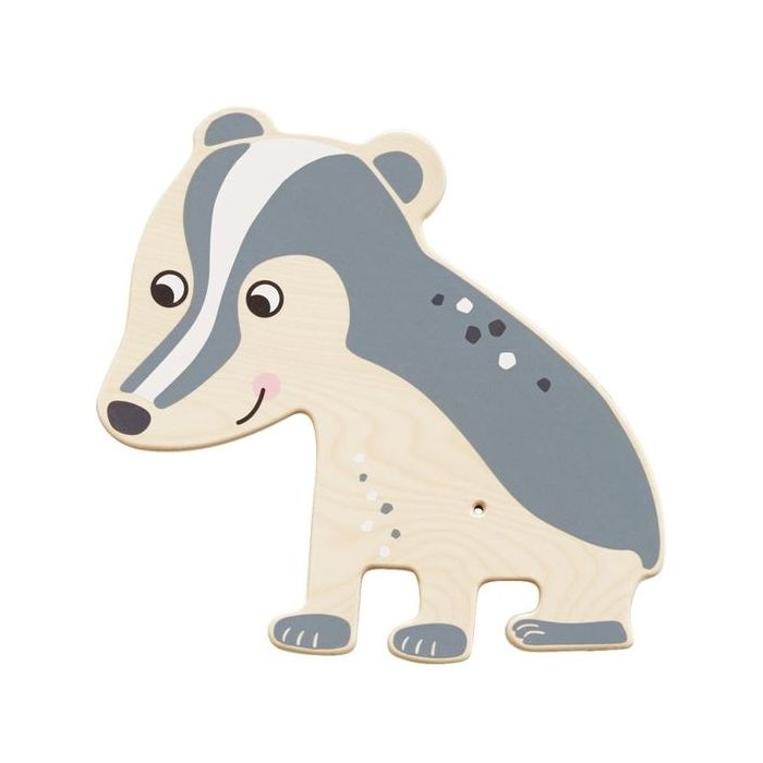 Badger Wooden Play Wall Decoration by HABA
