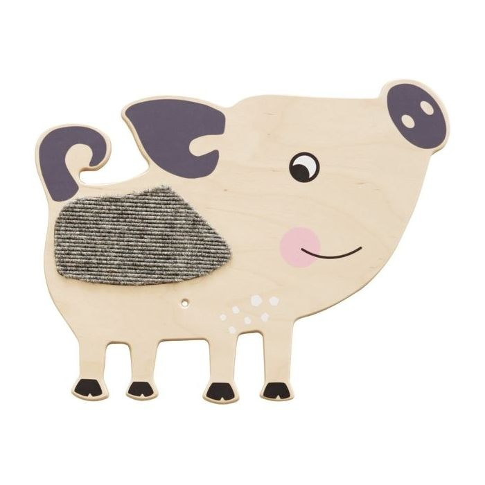 Pig Sensory Wooden Play Wall Decoration by HABA