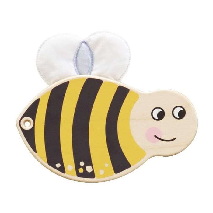Bumblebee Sensory Wooden Play Wall Decoration by HABA
