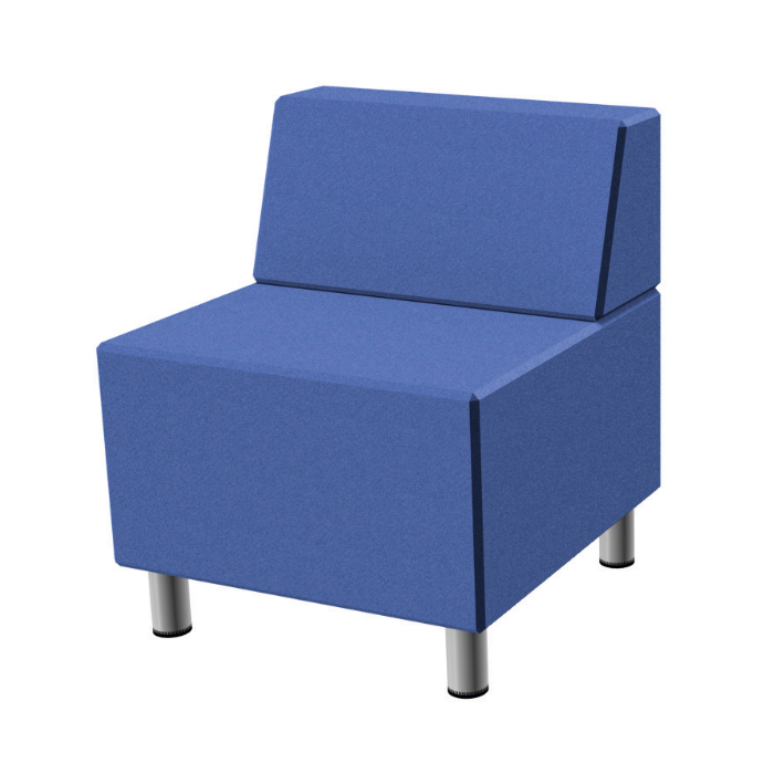 Relax Small Square Sofa with Seat Back by HABA